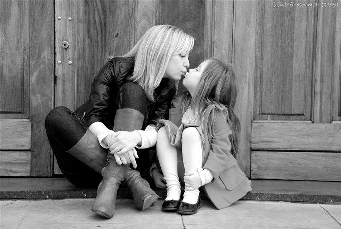 Модная мама и дочка