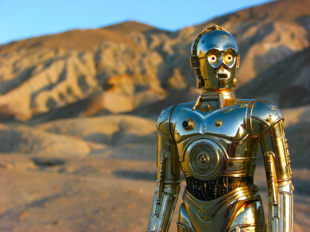 C-3PO - обсессивно-компульсивного расстройства личности