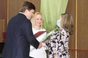 Сегодня наградили лучших сотрудников инфекционного госпиталя Городской больницы №5