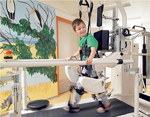 Вологодская областная больница закупила тренажерные комплексы для реабилитации детей