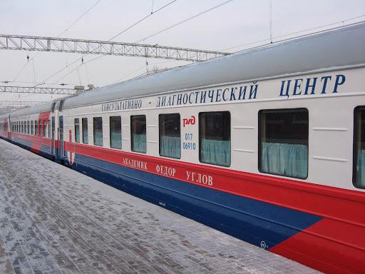 В Иркутской области пункты вакцинации от ковид развернуты прямо в поезде, проезжающим по станциям региона
