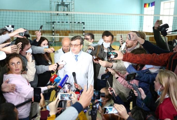 Министр здравоохранения Омской области – вышел к людям!